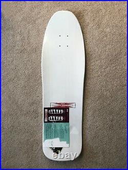 Neil Blender G&S Faces NOS Modified 80's Navy Blue/White Dip Skateboard deck
