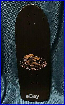 New Vintage Powell Peralta Dragon Skull and Sword Skateboard 1978 Gullwing Pro