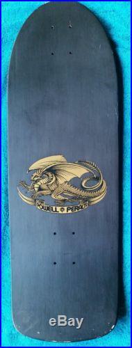 Nos 1980 Powell Peralta Alan Gelfand Ollie Tank skateboard deck rare color