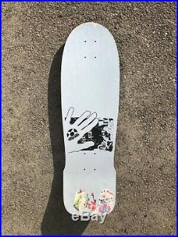 OG 1987 Tracker GSD Eye Pterodactyl NOS Skateboard Vintage old rare