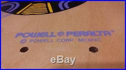 OG ORIGINAL 1990 Tony Hawk MEDALLION NEW & Never Ridden DECK Peralta BRIGADE