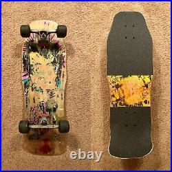 OG / Original 1987 Vision Skateboards Totally Nuts Psycho Stick Skateboard