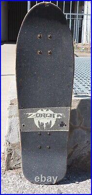 OG VTG 1990 Zorlac Metallica Skateboard H-Street Vision Powell World G&S Blind
