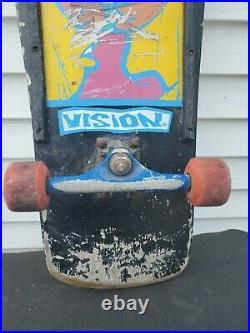 OG Vision Mark Gonzales skateboard Splitface Black 1988 Gonz