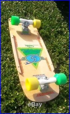 Old school skateboard Sims Snakes wheels Alva ACS G&S G&S Variflex Hobie Powell