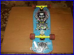 Original 1980's Sims Staab Mad Scientist Mini Complete Skateboard