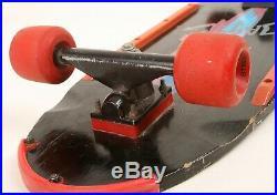 Original 1985 Vintage Tony Alva Dagger Skateboard w Alva Street Bones Wheels