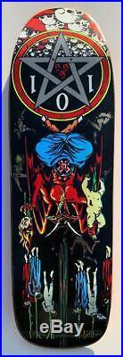Original 1991 101 Skateboards Natas Kaupas Devil Worship Model Art By Marc McKee