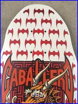 Original Powell Peralta Caballero Skateboard Deck Dragon Bats NOT REISSUE OG