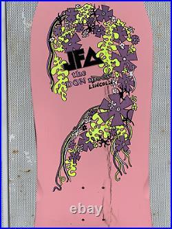 Original Rare Vintage JFA Skateboard 1986 Don Lincoln Model Placebo Records Punk