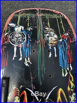 Original Vintage 1991 NATAS KAUPAS Devil Worship Skateboard Deck 101 Marc Mckee