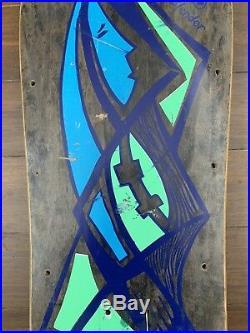 Original Vintage G&S Neil Blender Picasso Skateboard Deck RARE