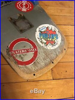 POWELL PERALTA 1981 Steve Caballero Skateboard Deck Old School Cab Vintage