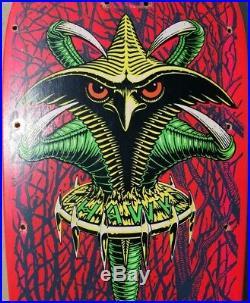 POWELL PERALTA TONY HAWK CLAW SKATEBOARD rare vintage chicken skull santa cruz