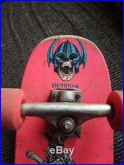 Powell Peralta 1981 Rodney Mullen Skateboard W Trac Trux And Powell Bones