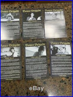 Powell Peralta Bones Brigade Signed Deck 1/50 COA Tony Hawk Skateboard 80s