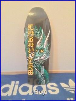 Powell Peralta Caballero Dragon vintage skateboard NOS