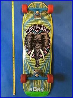 Powell Peralta Mike Vallely ELEPHANT Skateboard+ vintage Tracker trucks, wheels