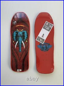 Powell Peralta Mike Vallely Reissue Skateboard Deck Elephant 2020 Red New