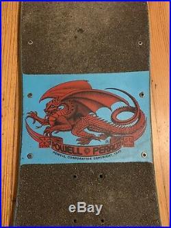 Powell Peralta Per Welinder Nordic Skull Streetstyle Skateboard Og 1987 Vintage