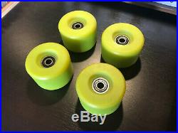 Powell Peralta Rat Bones Vintage Skateboard Wheels NOS lime green