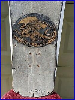Powell Peralta Skull & Sword XT 1987 Bonite Vintage Skateboard Beamer VTG USA