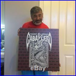 Powell Peralta Steve Caballero Bones Brigade Cab Dragon Plastic sublimated Sign