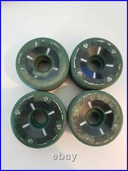 Powell Peralta T Bones 67mm 97a Skateboard Wheels Bones Brigade Tony Hawk green