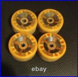 Powell Peralta T Bones Skateboard Wheels 67mm 97a Yellow Bones Brigade