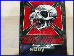 Powell Peralta Tony Hawk OG Vintage 80s Skateboard XT Purple Black Original