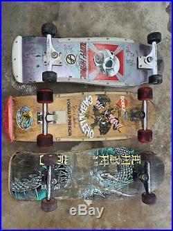 Powell Peralta, Tony Hawk, Steve Caballero, Vintage Skateboard Package