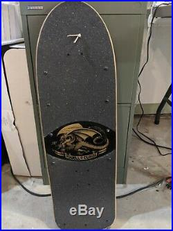 Powell Peralta Vato Rat Deck reissue skateboard vintage OG rat bones used but VG