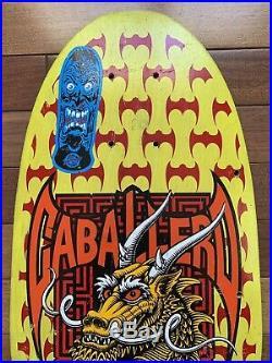 Powell Peralta Vintage OG Steve Cabalero Drangon And Bats