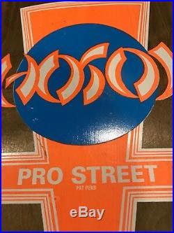 Prototype NOS Hosoi Pro Street Tri Tail Skateboard 80's Vintage Powell Peralta