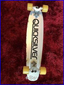 Quicksilver 90kg/powell/sims vintage/skateboard/1978-Gullwing IV-Bones Wheels