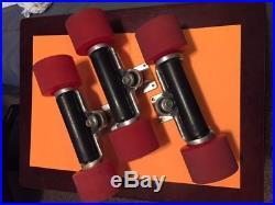 RARE DEAL! Z-Roller skateboard trucks with Divine wheels- Ceramic Bearings