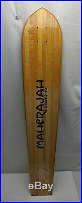RARE Maherajah Longboard Skateboard Vintage! Very lightly ridden from about 2000
