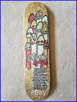 RARE Nos 1995 Ron Whaley Santa Cruz slick skateboard deck Thomas Campbell art