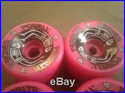 RARE Vintage NOS Powell Peralta G-Bones 64mm Skateboard Wheels 90A Pink