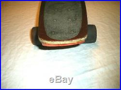 RARE! Vtg 70's G&S Fibreflex KICKTAIL MODEL SKATEBOARD Yo-Yo WHEELS Gold ACS 651