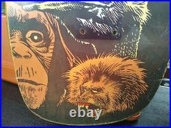 RARE vintage early 90s World Industries Mike Vallely ANIMAL slic skateboard deck