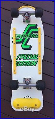 Rare 1980's Santa Cruise Special Edition Skateboard