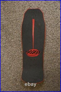 Rare 80's Christian Hosoi Sunrise Skateboard Deck Vintage Excellent