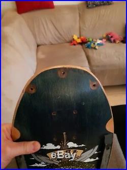 Rare 80's Micke Alba Dogtown The Land Where I Live Original Skateboard Deck