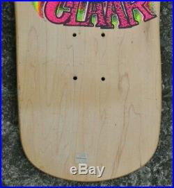 Rare G&S Skateboard Steve Claar Whales Model 1989 Art Godoy Art natural