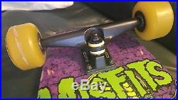 Rare Misfits Earth A. D. Coffin Longboard Skateboard