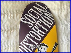 Rare NOS Social Distortion Skateboard Promo Band Punk Skate Deck Misfits NOFX
