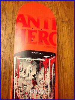 Rare Nos Julien Stranger Anti Hero Political'blender / Grenade' Skateboard