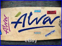 Rare Tony Alva 1977/78 Skateboard, Tracker Trucks, Kryptonic Wheels One Owner
