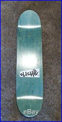 Rare Vintage Cliche skateboard Marc McKee Art NOS Sean Cliver w Free HUF Shirt